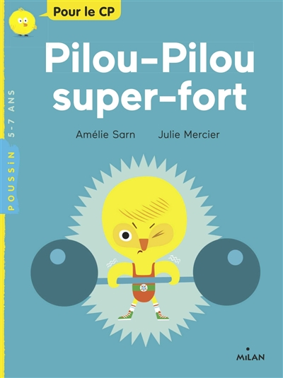 Pilou-pilou super fort | Amélie Sarn (1970-....). Auteur