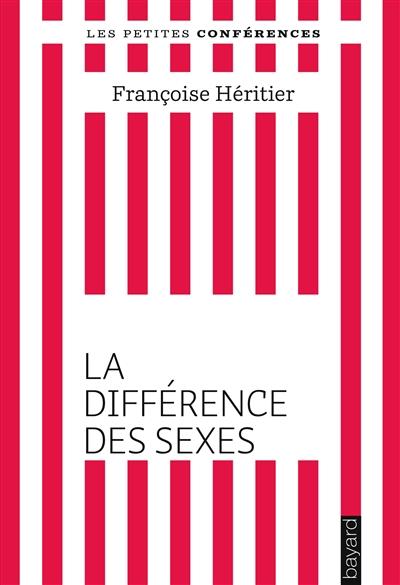 La différence des sexes explique-t-elle leur inégalité ? : petite conférence | Héritier, Françoise (1933-....). Auteur