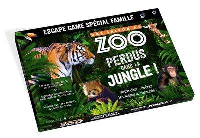 Une saison au zoo : perdus dans la jungle ! : escape game famille