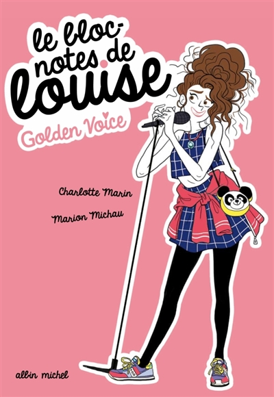 Golden voice | Marin, Charlotte. Auteur