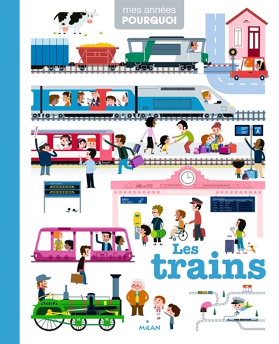 trains (Les) | Benoist, Cécile (1977-....). Auteur