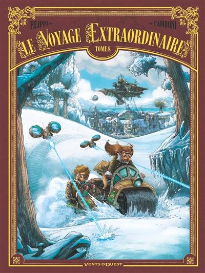 Le voyage extraordinaire. Vol. 8. Vingt mille lieues sous les glaces. Vol. 2