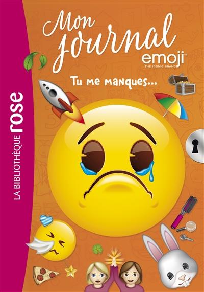 Mon journal emoji. Vol. 11. Tu me manques...