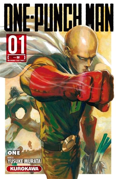 One-punch man. 1, Un poing, c'est tout ! / manga Yusuke Murata | Murata, Yusuke. Auteur