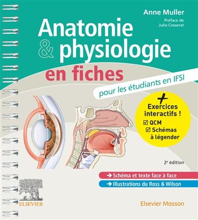 Anatomie & physiologie en fiches : pour les étudiants en IFSI