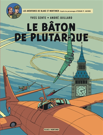 Le bâton de Plutarque   Sente, Yves (1964-....) - Scénariste de bandes dessinées. Scénariste