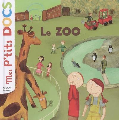 Le zoo / Texte Stéphanie Ledu | Ledu, Stéphanie. Auteur