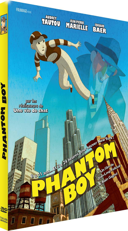 Phantom Boy / Dessin animé d'Alain Gagnol et Jean-Loup Felicioli   Gagnol, Alain. Metteur en scène ou réalisateur. Scénariste