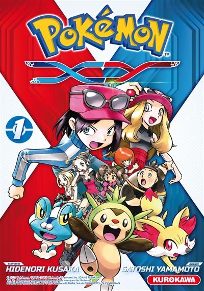 Pokémon X-Y   Kusaka, Hidenori. Auteur