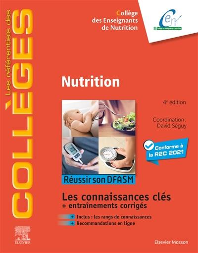 Nutrition : réussir son DFASM