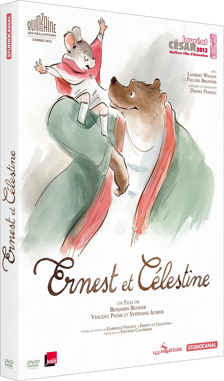 Ernest et Célestine / Stéphane Aubier, Vincent Patar, Benjamin Renner, réal. | Renner, Benjamin (1983-....). Réalisateur