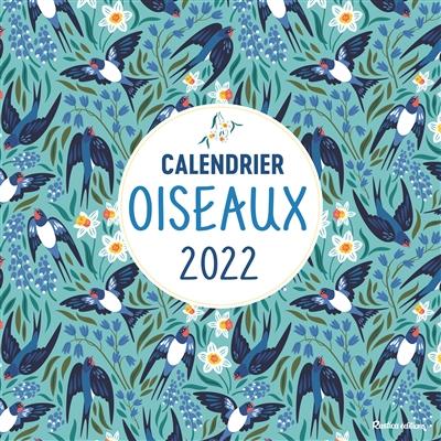 Oiseaux : calendrier 2022