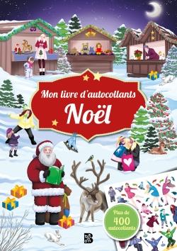 Mon livre d'autocollants : Noël