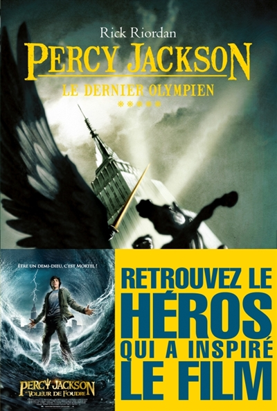 Percy Jackson Tome 05 : le dernier olympien | Riordan, Rick, auteur