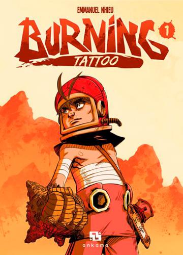 Burning tattoo. 1 | Emmanuel Nhieu (1974-....). Auteur