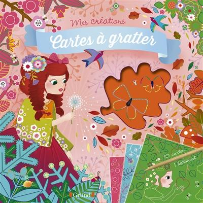 Princesses des quatre saisons : cartes à gratter