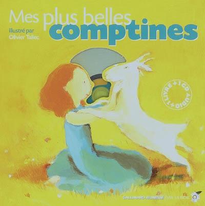 Mes plus belles comptines / illustré par Olivier Tallec | Tallec, Olivier (1970-....). Illustrateur