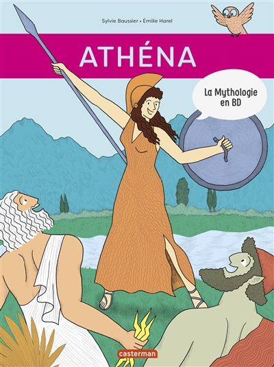 La mythologie en BD. Athéna