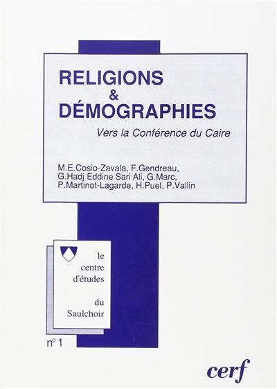 Religions et démographies : 7 juin 1994 : vers la Conférence du Caire