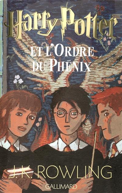 Harry Potter et l'Ordre du Phénix   J. K. Rowling (1965-....). Auteur