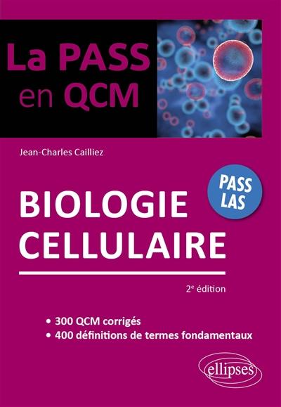 Biologie cellulaire : Pass LAS