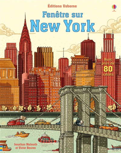 New York : avec plus de 80 rabats / Jonathan Melmoth et Victor Beuren | Melmoth, Jonathan. Auteur
