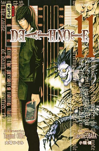 Death note. 11 : manga / scénario Tsugumi Ohba | Ohba, Tsugumi. Auteur