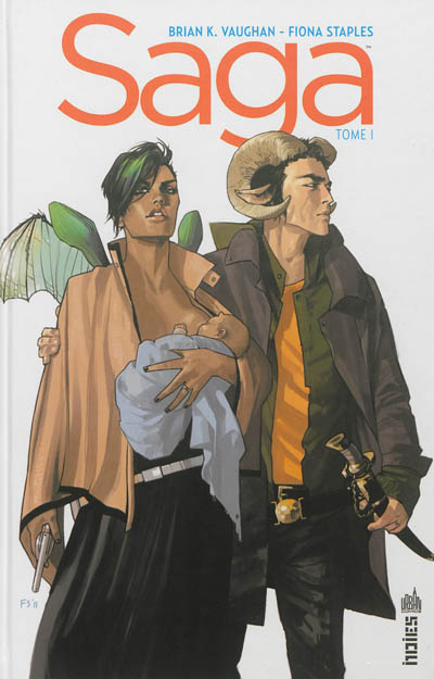 Saga. 1 / scénario, Brian K. Vaughan | Vaughan, Brian K. (1976-....). Auteur