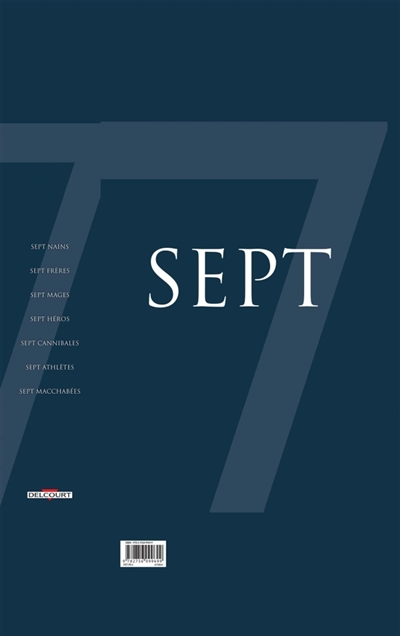 Sept : coffret saison 3