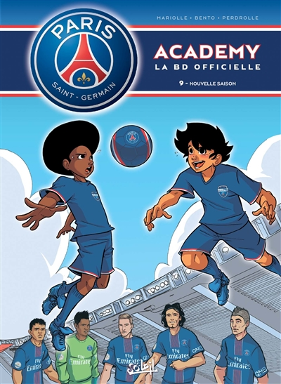 Paris Saint-Germain Academy : la BD officielle. Vol. 9. Nouvelle saison