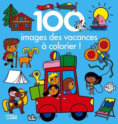 100 images des vacances à colorier !