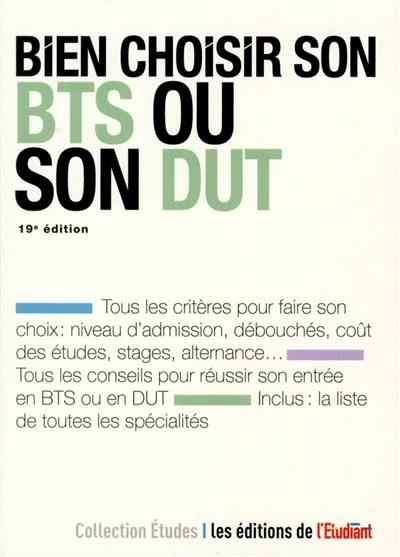 Bien choisir son BTS ou son DUT / Christèle Boisseau-Potier | Christèle Boisseau-Potier