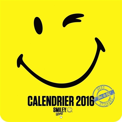 Smiley world : calendrier 2016