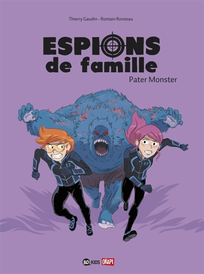 Pater monster | Gaudin, Thierry (1972-....). Auteur