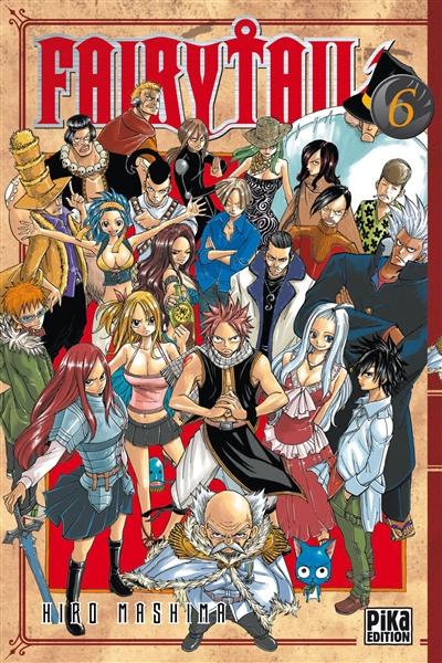 Fairy Tail. 6 / Hiro Mashima   Mashima, Hiro. Auteur