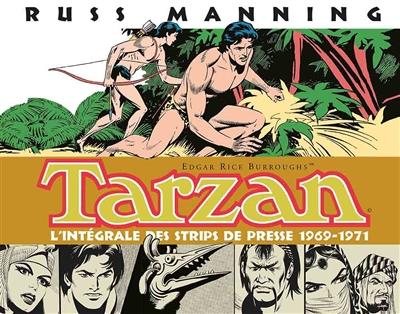 Tarzan : l'intégrale des strips de presse de Russ Manning. Vol. 2. 1969-1971