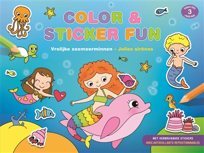 Sirènes : color & sticker fun