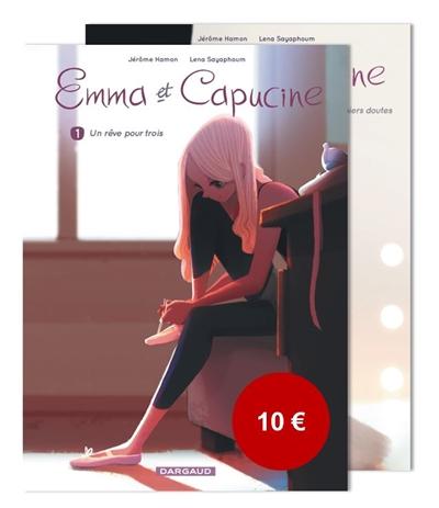 Emma et Capucine T1 et T2 : pack 1+1