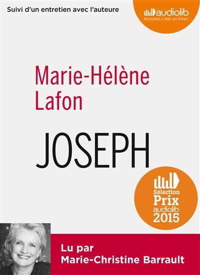 Couverture de : Joseph : suivi d'un entretien avec l'auteure