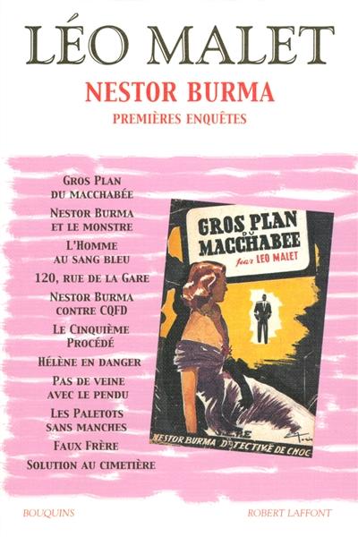 Les Enquêtes de Nestor Burma et les Nouveaux mystères de Paris   Malet, Léo (1909-1996). Auteur