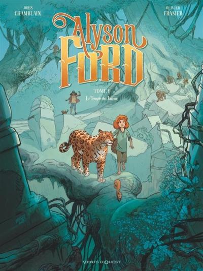 Alyson Ford. Vol. 1. Le temple du jaguar : OP BD héroïnes