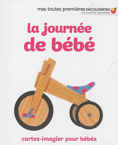 La journée de bébé : cartes-imagier pour bébés