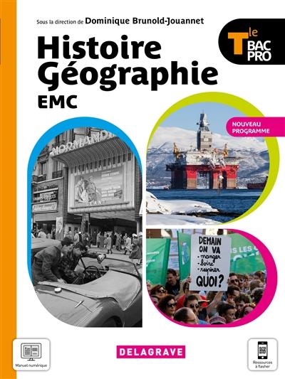 Histoire géographie EMC terminale bac pro : nouveau programme