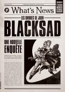 Blacksad. What's news : les ombres de John Blacksad