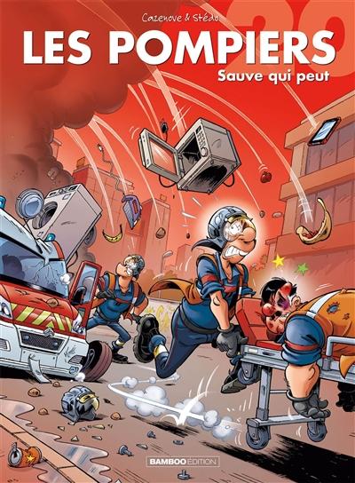 Les pompiers. Vol. 20. Sauve qui peut