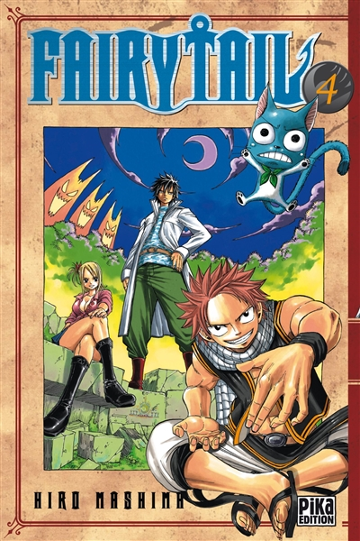 Fairy Tail. 4 / Hiro Mashima | Mashima, Hiro (1977-....). Auteur