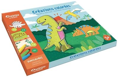 Créations colorées : dinosaures