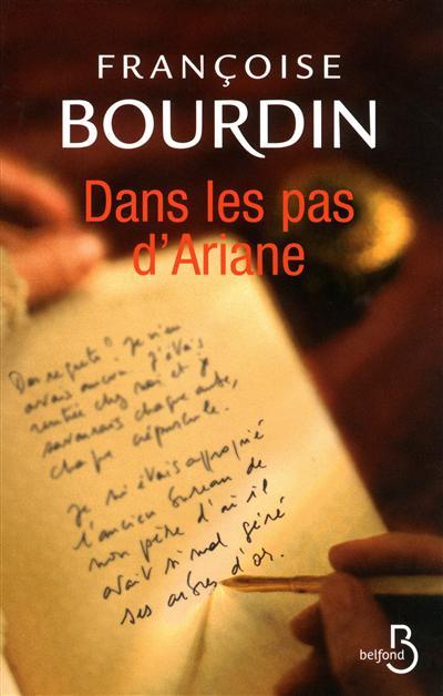 Dans les pas d'Ariane. 2 / Françoise Bourdin   Bourdin, Françoise (1952-....). Auteur