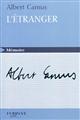 L' étranger / Albert Camus | Camus, Albert (1913-1960). Auteur