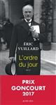 ordre du jour (L') | Eric Vuillard, Auteur